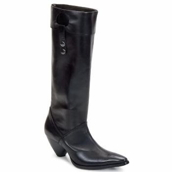 Topánky Ženy Čižmy do mesta Stephane Gontard PUCCINI čierna