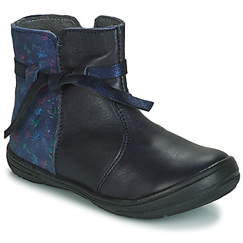 Topánky Deti Polokozačky André FLOTTE Námornícka modrá