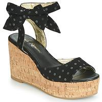 Topánky Ženy Sandále Lola Ramona NINA Čierna