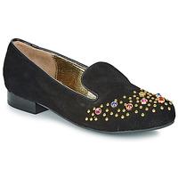 Topánky Ženy Mokasíny Lola Ramona PENNY Čierna / Zlatá