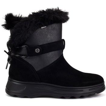 Topánky Ženy Snehule  Geox Hosmos Abx Čierna