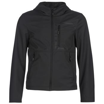 Oblečenie Muži Bundy  Geox TIRPIRUTE Čierna