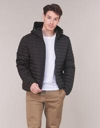 Oblečenie Muži Vyteplené bundy Geox TIRPIRUNE Čierna