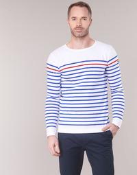 Oblečenie Muži Tričká s dlhým rukávom Armor Lux YAYAYOUT Biela / Modrá / Červená