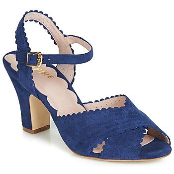 Topánky Ženy Sandále Miss L'Fire BEATRIZ Modrá