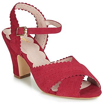 Topánky Ženy Sandále Miss L'Fire BEATRIZ Červená