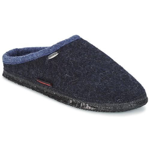 Topánky Muži Papuče Giesswein DANNHEIM Námornícka modrá