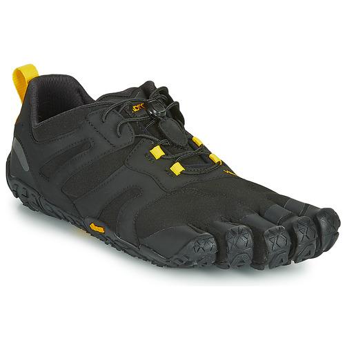 Topánky Muži Bežecká a trailová obuv Vibram Fivefingers V-TRAIL Čierna / Žltá