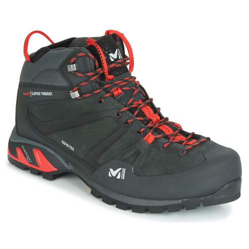 4922bca6c Topánky Muži Turistická obuv Millet SUPER TRIDENT GTX Čierna / Červená
