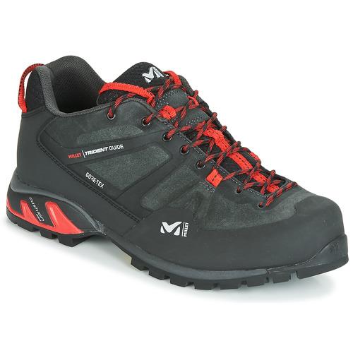66ce7bf0b Topánky Muži Turistická obuv Millet TRIDENT GUIDE GTX Čierna / Červená