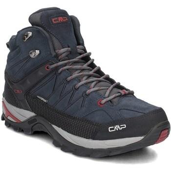 Topánky Muži Turistická obuv Cmp 3Q1294762BN Čierna,Tmavomodrá