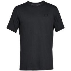 Oblečenie Muži Tričká s krátkym rukávom Under Armour Sportstyle Left Chest Čierna