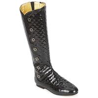 Topánky Ženy Čižmy do mesta French Sole PUMPKIN Čierna