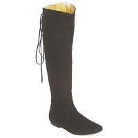 Topánky Ženy Čižmy do mesta French Sole PRINCE Čierna