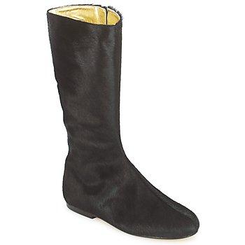 Topánky Ženy Čižmy do mesta French Sole PATCH Čierna
