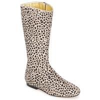 Topánky Ženy Čižmy do mesta French Sole PATCH Leopard