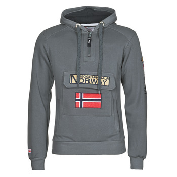 Oblečenie Muži Mikiny Geographical Norway GYMCLASS Šedá