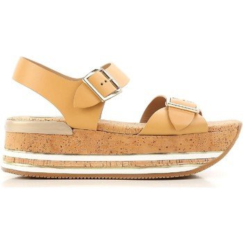 Topánky Ženy Sandále Hogan HXW3540AA40D0WC611 beige