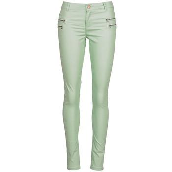 Oblečenie Ženy Nohavice päťvreckové Noisy May FAME Zelená