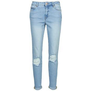Oblečenie Ženy Džínsy Slim Noisy May KIM Modrá