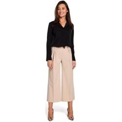 Oblečenie Ženy Šaty Style S139 Cullotes - béžová