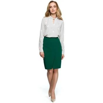 Oblečenie Ženy Blúzky Style S127 Zavinovacia ceruzková sukňa - zelená