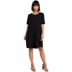 Oblečenie Ženy Mikiny Be B082 Šaty Breezy shift - čierne