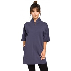 Oblečenie Ženy Blúzky Be B043 Kimono tunika - modrá