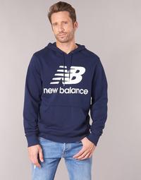 Oblečenie Muži Mikiny New Balance NB SWEATSHIRT Námornícka modrá