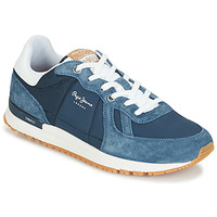 Topánky Muži Nízke tenisky Pepe jeans TINKER PRO Modrá