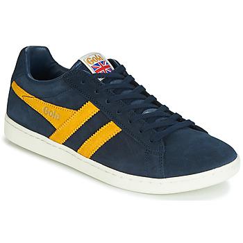 Topánky Muži Nízke tenisky Gola EQUIPE SUEDE Modrá / Žltá
