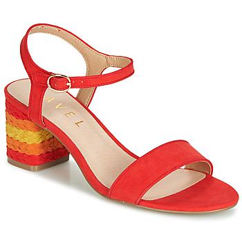 Topánky Ženy Sandále Ravel CLEMONT Oranžová
