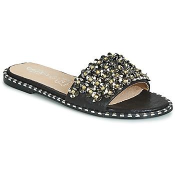 Topánky Ženy Šľapky Cassis Côte d'Azur ALVINA Čierna