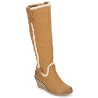 Topánky Ženy Čižmy do mesta StylistClick SANAA ťavia hnedá