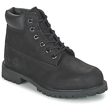 Topánky Deti Polokozačky Timberland 6 IN CLASSIC Čierna