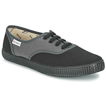 Topánky Nízke tenisky Victoria INGLESA BICOLOR Antracitová