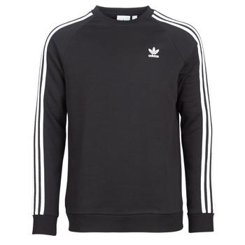 Oblečenie Muži Mikiny adidas Originals 3 STRIPES CREW Čierna
