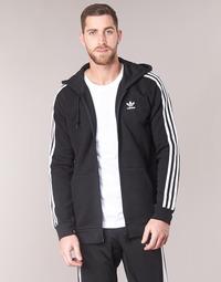 Oblečenie Muži Mikiny adidas Originals 3 STRIPES FZ Čierna