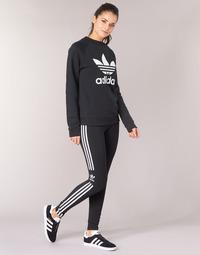 Oblečenie Ženy Legíny adidas Originals TREFOIL TIGHT Čierna