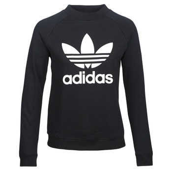 Oblečenie Ženy Mikiny adidas Originals TRF CREW SWEAT Čierna