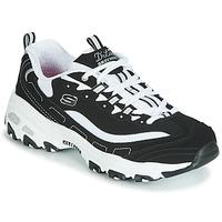 Topánky Ženy Nízke tenisky Skechers D'LITES Čierna / Biela