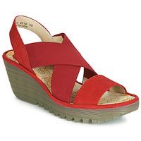 Topánky Ženy Lodičky Fly London YAJI Červená