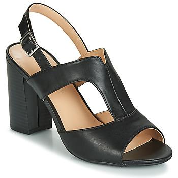 Topánky Ženy Sandále Moony Mood JALILIA Čierna
