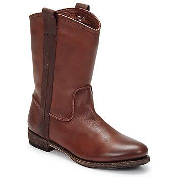 Topánky Muži Polokozačky Blackstone BOLOGNA HORSES Hnedá
