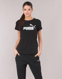 Oblečenie Ženy Tričká s krátkym rukávom Puma PERMA ESS TEE Čierna