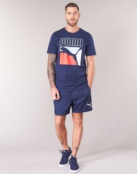 Oblečenie Muži Šortky a bermudy Puma WOVEN SHORT Námornícka modrá