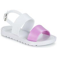 Topánky Dievčatá Sandále Be Only ELEA Biela / Ružová