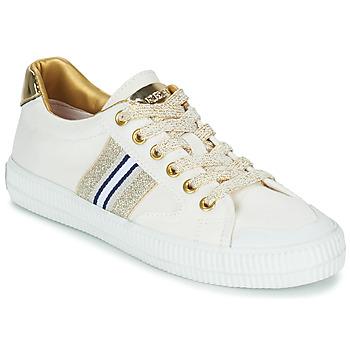Topánky Ženy Nízke tenisky Replay EXTRA Biela / Zlatá