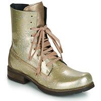 Topánky Ženy Polokozačky Papucei JANET Zelená / Béžová