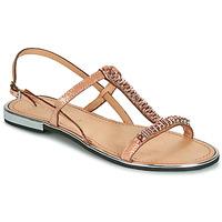Topánky Ženy Sandále Geox D SOZY PLUS Bronzová